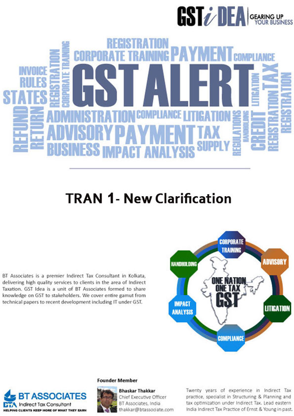 TRAN 1- New Clarification