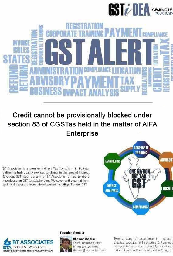 Significant Amendments in GST-October 2019